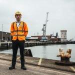 MMD worker on Albert Johnson Quay