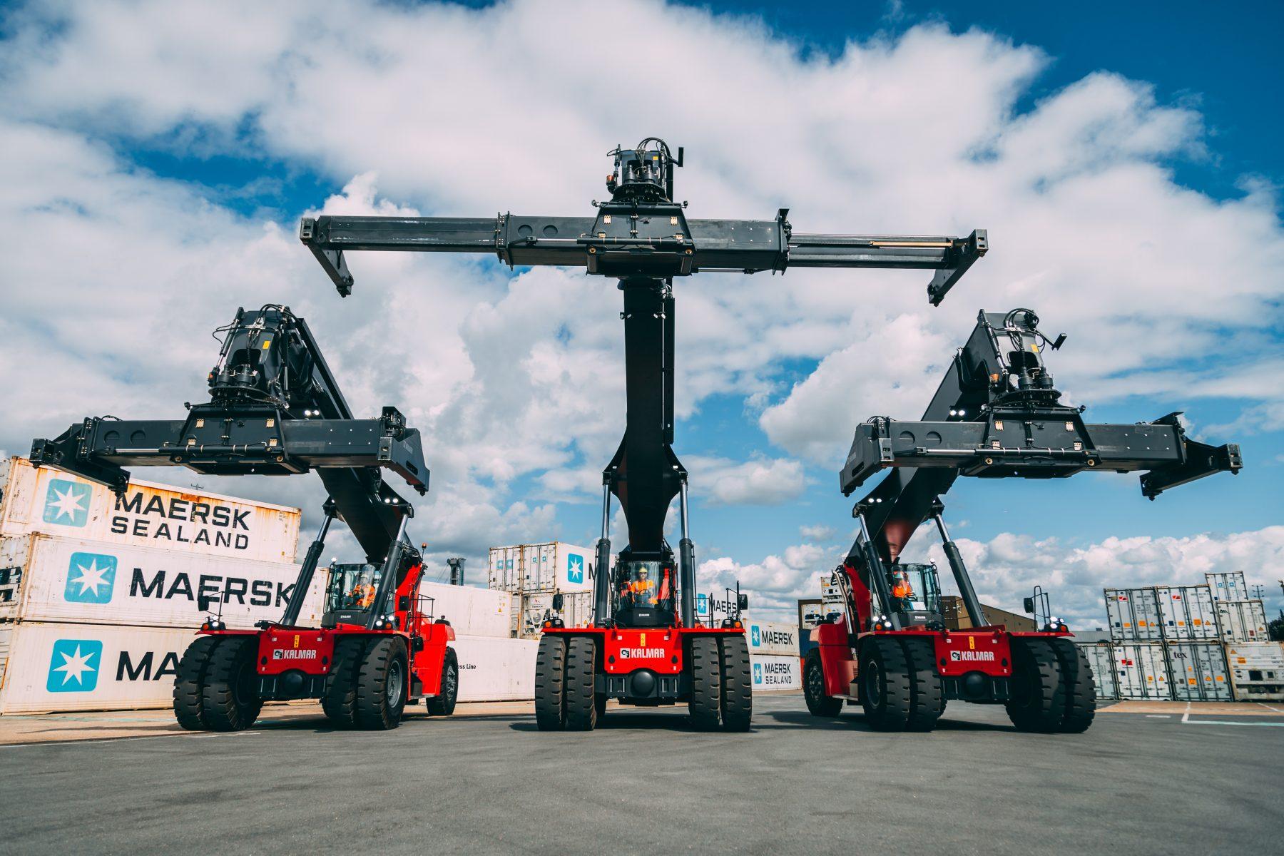 Kalmar reach stackers